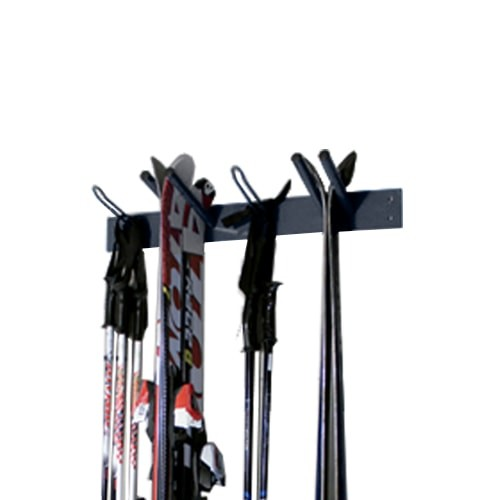 rangement ski mural porte ski pour 4 paires laboutiqueduski. Black Bedroom Furniture Sets. Home Design Ideas