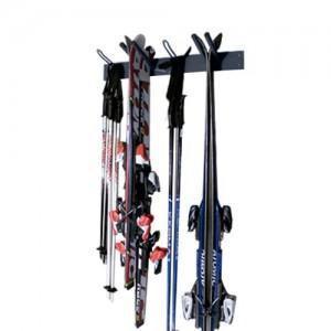 Rangement ski mural - Porte ski pour 4 paires