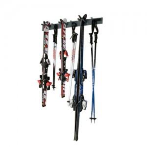 Rangement ski mural - Porte ski pour 6 paires
