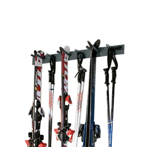 rangement ski mural porte ski pour 6 paires laboutiqueduski. Black Bedroom Furniture Sets. Home Design Ideas