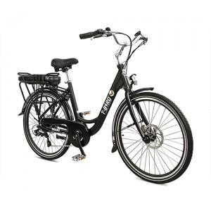 Vélo électrique vintage MIAMI NOIR, l'urbain dans l'âme du vélo électrique design.