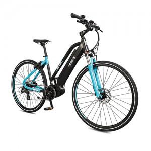 Vtt électrique puissant MONT-BLANC NOIR & BLANC, le dévoreur de grands espaces du vélo électrique design.