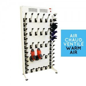 Warm air boot & glove dryer: mixed 10 + 13 pairs