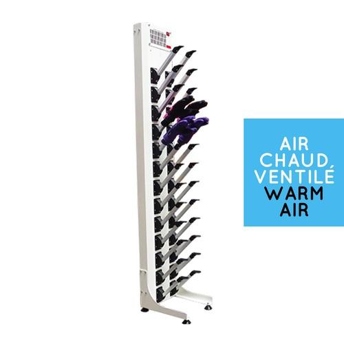 Warm air glove dryer : 13 pairs