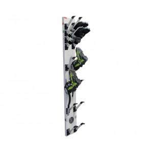 Sèche chaussures de ski et gant basse consommation ASPECT ZINGUE: 4 paires de chaussures et 4 paires de gants