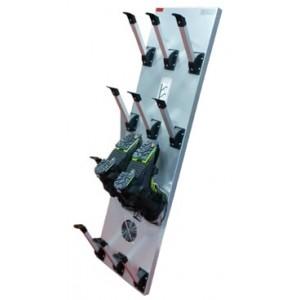 Energy Saving Ski Boot Dryer ASPECT ZINGUE : 6 pairs horizontal
