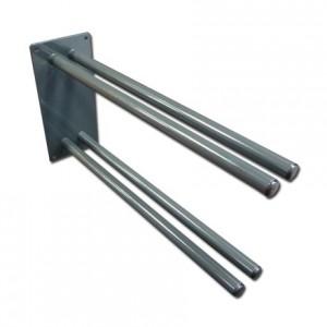 Ski fork holder