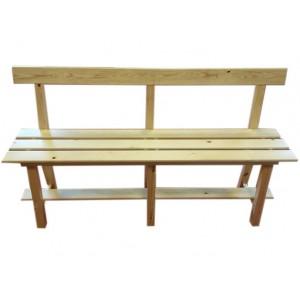 Banc en bois, 1 m 50