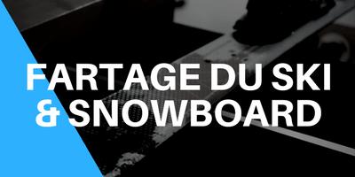 Fartage du ski et snowboard