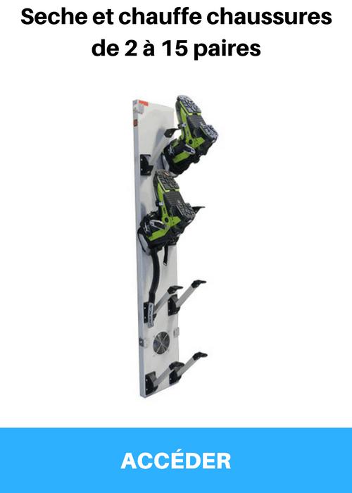 Seche et chauffe chaussures de ski