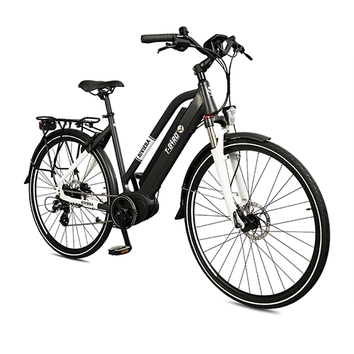 Vélo électrique vintage RIVIERA NOIR, le séducteur à l'état pur du vélo électrique design.
